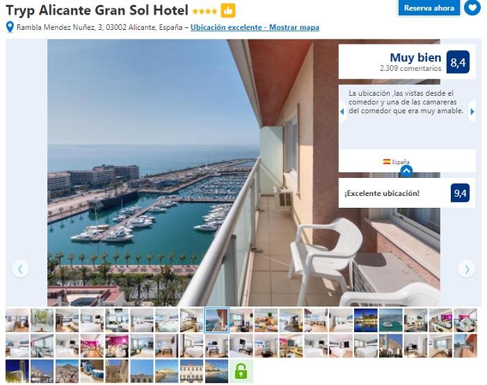 donde alojarse en Alicante