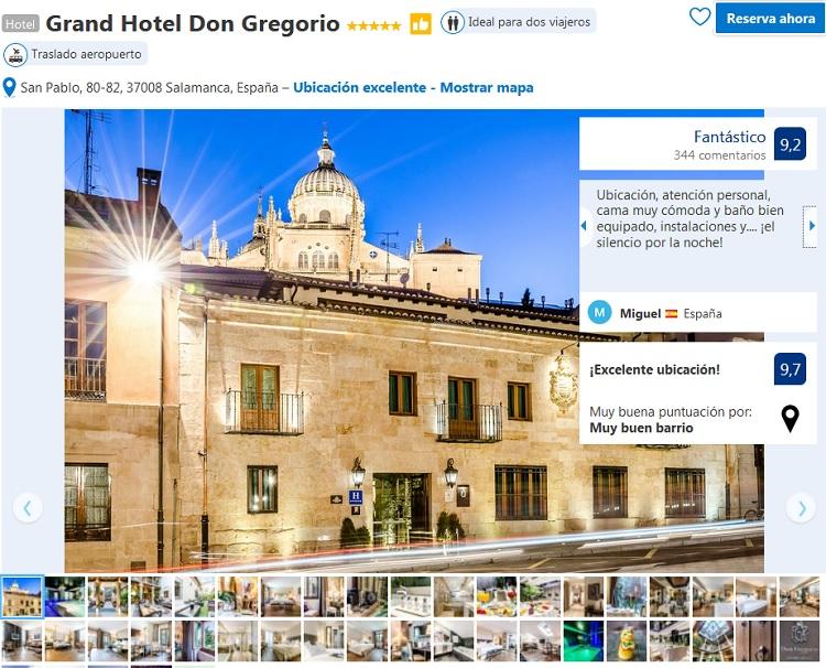 hoteles 5 estrellas Salamanca