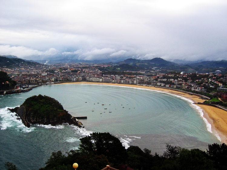 Playa san Sabastian