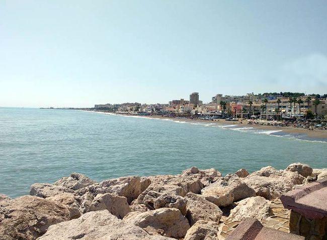 Vista costa Torremolinos